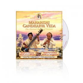 CD - Gandharva-Véda Maharishi : raga Bhairavi par Devabrata Chaudhuri et Anant Lal.